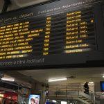 【フランス】TGVが来ない!搭乗予定の電車がキャンセルになった場合