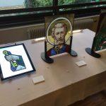 ステンドグラス・アーティストの個展@パリ国際大学都市(日本館)