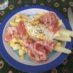 白アスパラのミモザ風〜フランスの旬の野菜を楽しむ〜